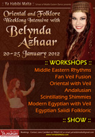 Workshops and show in Malta with Belynda Azhaar - 2012